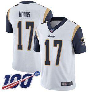 Rams Robert Woods 100th Season Jersey 2